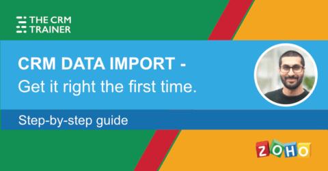 CRM data import