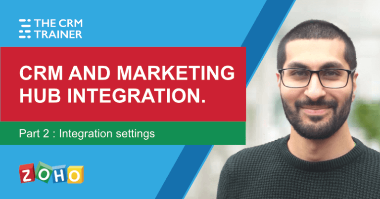 Zoho CRM and Zoho Marketing Hub integration p2