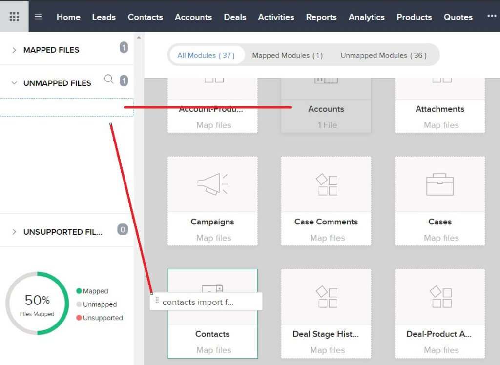 Data Migration Step 3 - Mapping Files