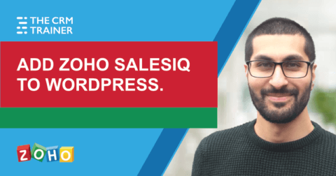 Adding Zoho SalesIQ to WordPress