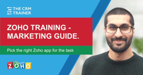 Zoho training - marketing guide