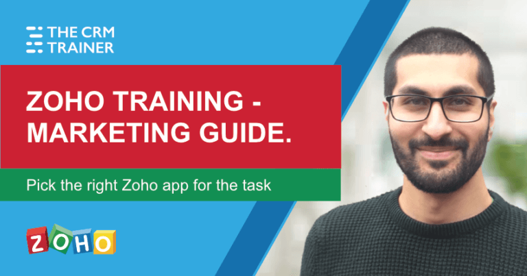 Zoho training - marketing guide