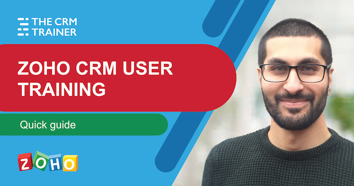 Zoho CRM User Training