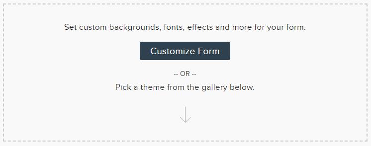 Customize a Zoho Form