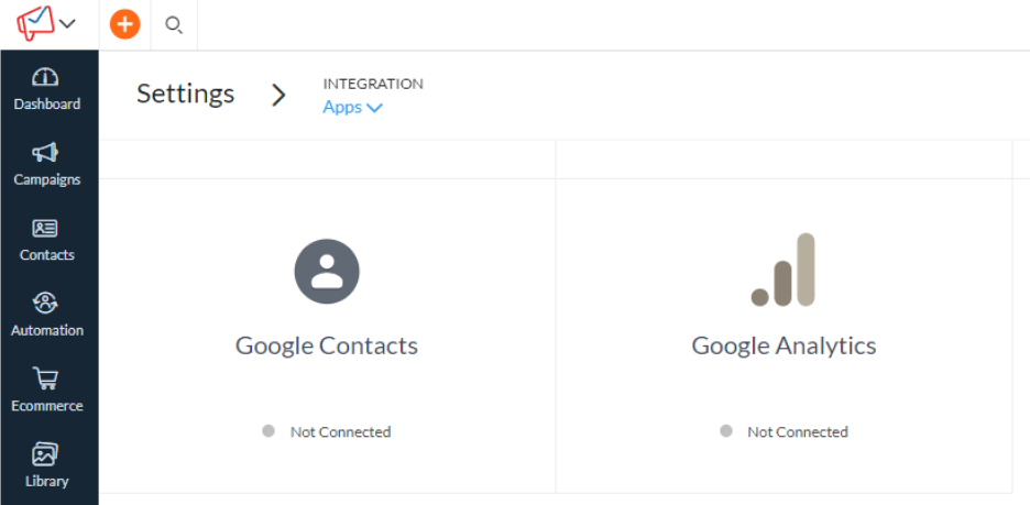 Zoho Campaigns - Integration with Google Analytics